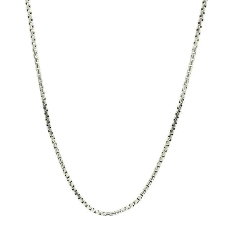 Vintage1940s/50s 'Made in England' Silver Chain Necklace