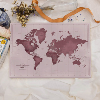 Pinboard map customized colors daydream republic world map custom colors gumiabroncs Images