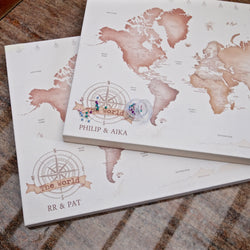 Personalized Pin My Travels