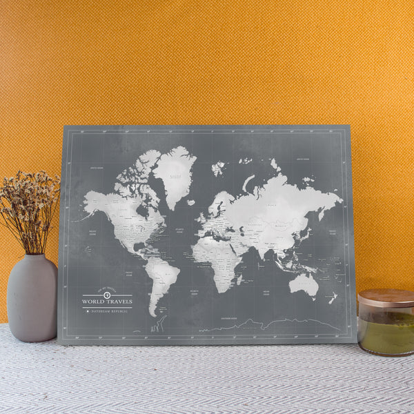 World Map- Minimalist
