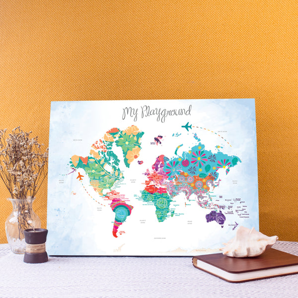 World Map - Playful