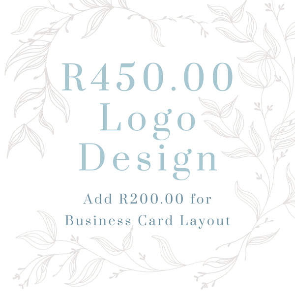 R450.00 Affordable Bespoke Logo JHB