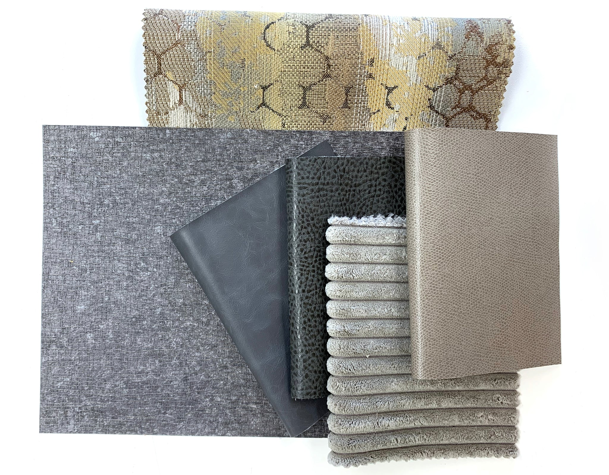 Neutral fabric and wallcovering products