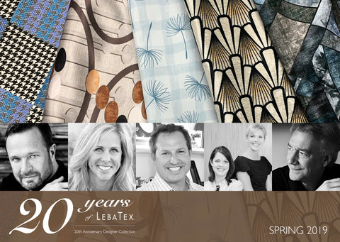 LebaTex 20th Anniversary Collection - Designer Collaborations