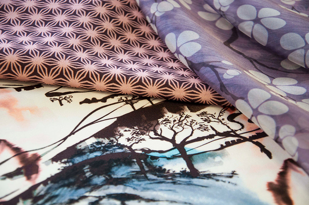 Digital Custom Printed Fabric