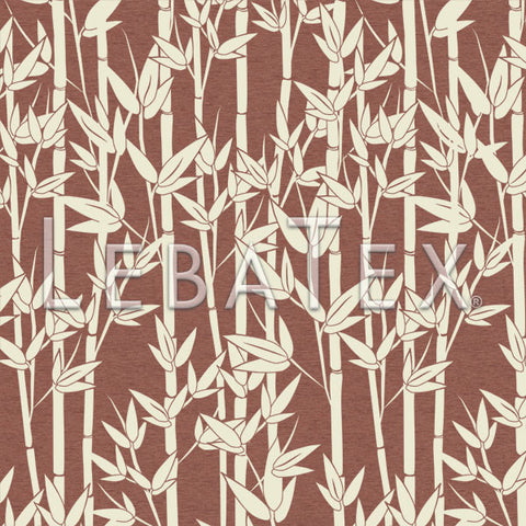 LebaTex Jungle Bamboo-Dusty Rose Customizable M.O.D. Fabric