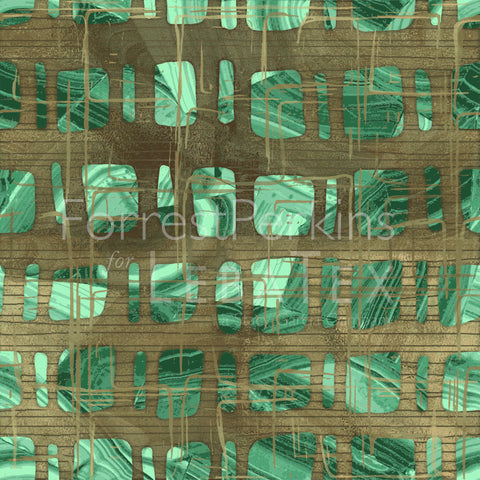Artifact-Green Malachite M.O.D. Pattern