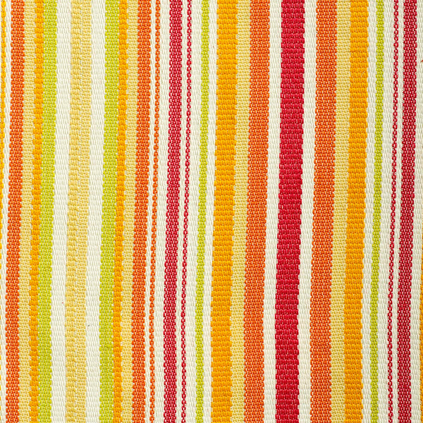 Becket Stripe-Red Indoor/Outdoor Upholstery Fabric
