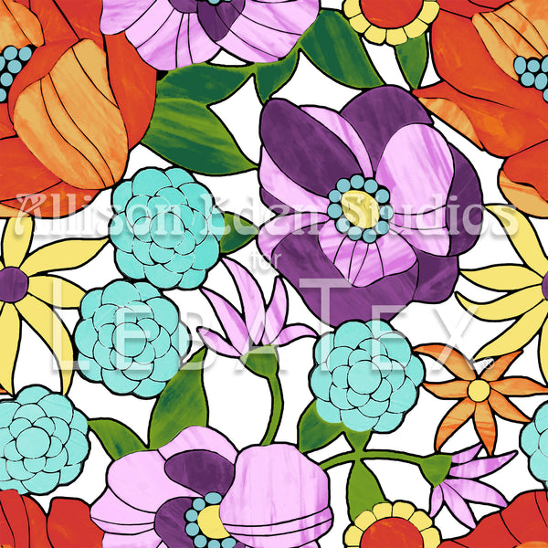 Blooming Customizable M.O.D. Fabric