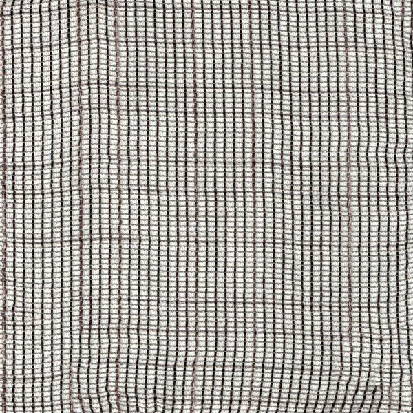 Buoyant-Chocolate Brown Sheer Drapery Fabric