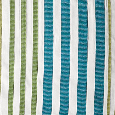 Canton Stripe-Sea Glass Indoor/Outdoor Upholstery Fabric
