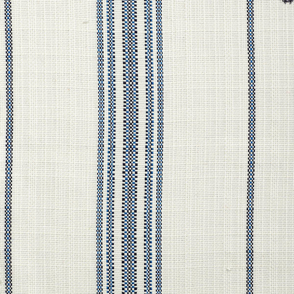 Catalina Stripe-Blue Indoor/Outdoor Upholstery Fabric