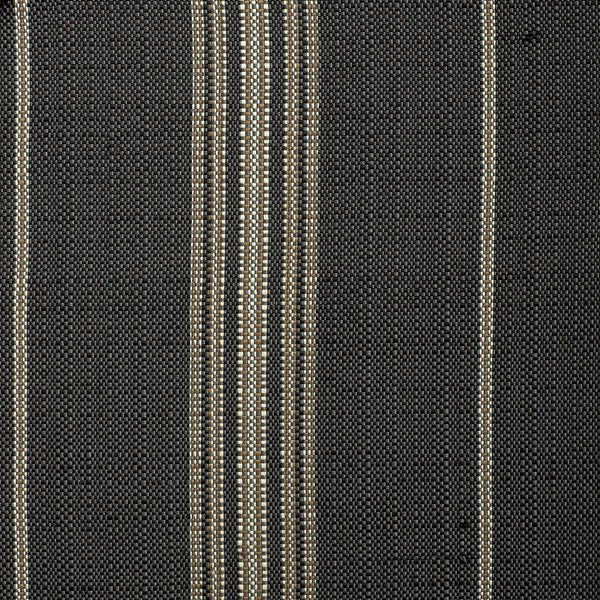 Catalina Stripe-Grey Indoor/Outdoor Upholstery Fabric