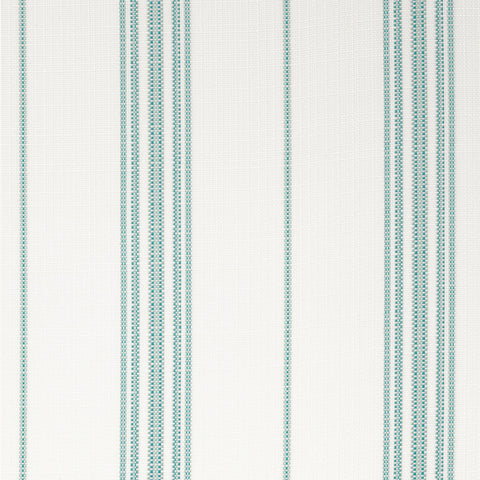 Catalina Stripe-Aqua Indoor/Outdoor Upholstery Fabric