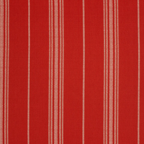 Catalina Stripe-Poppy Indoor/Outdoor Upholstery Fabric