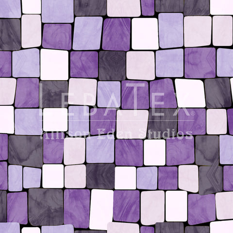 Cobblestone-Amethyst Customizable Fabric