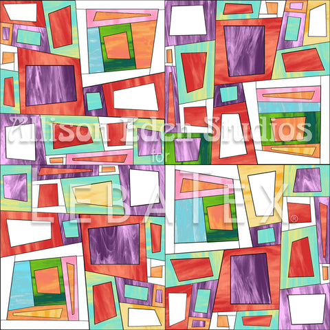 Complex Cubes Customizable M.O.D. Fabric
