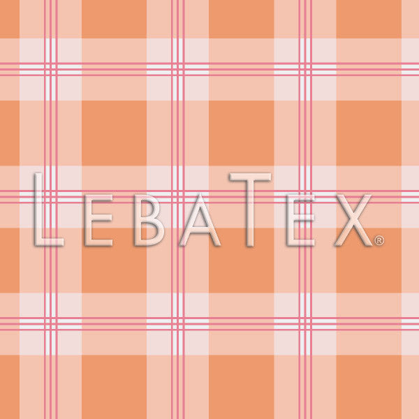 LebaTex Gingham Plaid Customizable M.O.D. Fabric