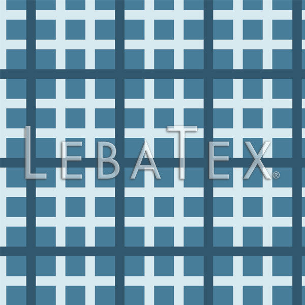 Modern Windowpane Customizable M.O.D. Fabric