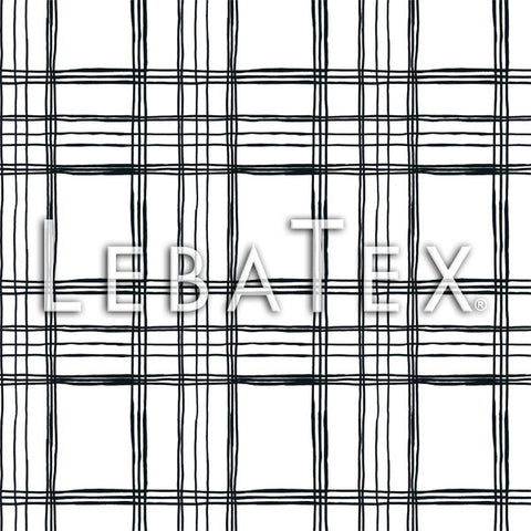 LebaTex Sketch Plaid Customizable M.O.D. Fabric