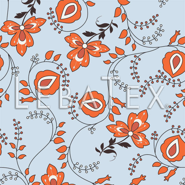 Floral Vine Customizable M.O.D. Fabric