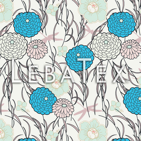 LebaTex Swaying Blossom Customizable M.O.D. Fabric