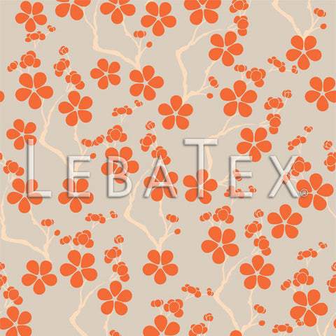 LebaTex Springtime Blossom Customizable M.O.D. Fabric