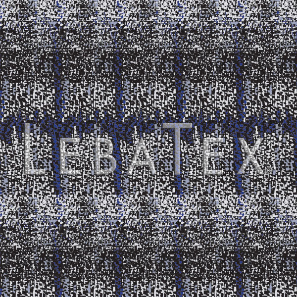 LebaTex Abstract Plaid Customizable M.O.D. Fabric