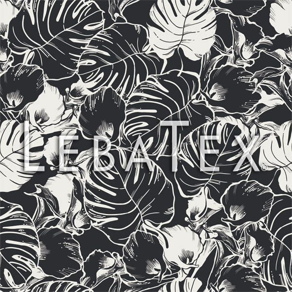 LebaTex Palm Fronds Customizable M.O.D. Fabric
