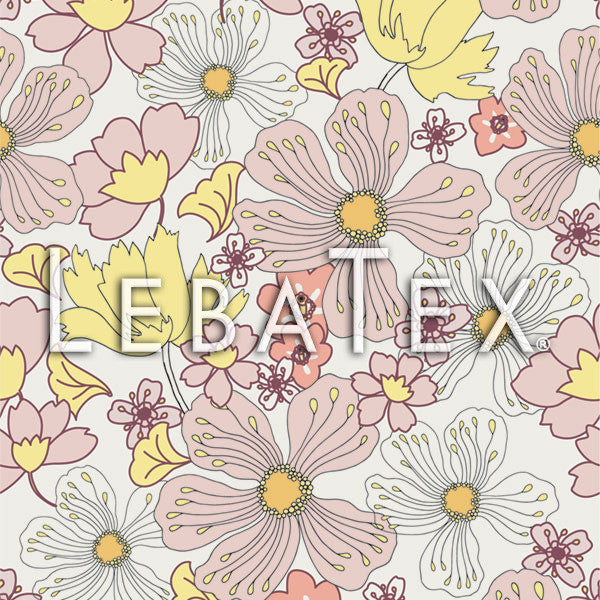 LebaTex Flower Bunch Customizable M.O.D. Fabric