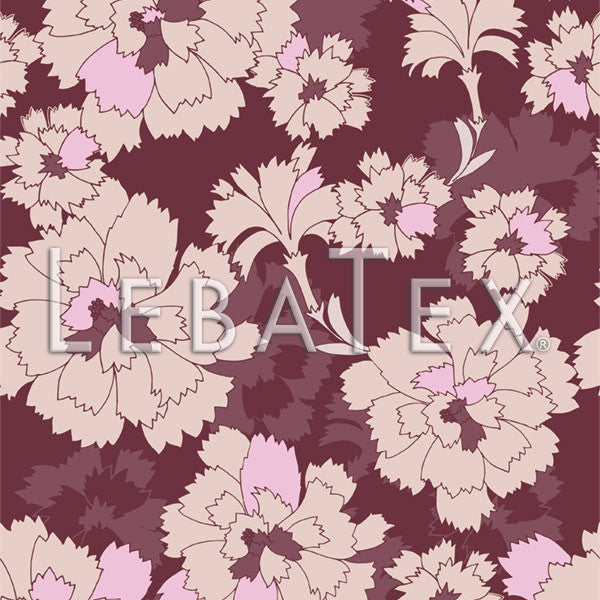 LebaTex Lucky Peony Customizable M.O.D. Fabric