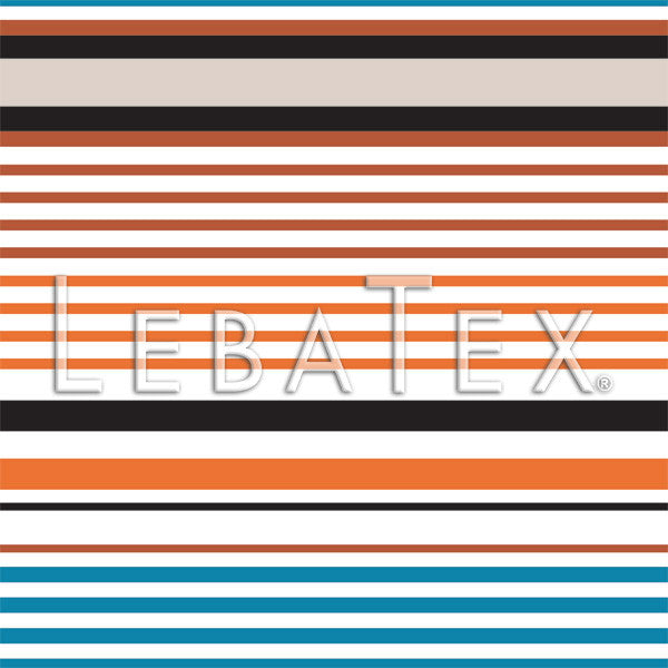 LebaTex Carnival Stripe Customizable M.O.D. Fabric