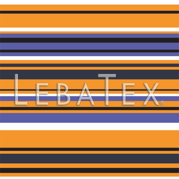 LebaTex Harbor Stripe Customizable M.O.D. Fabric