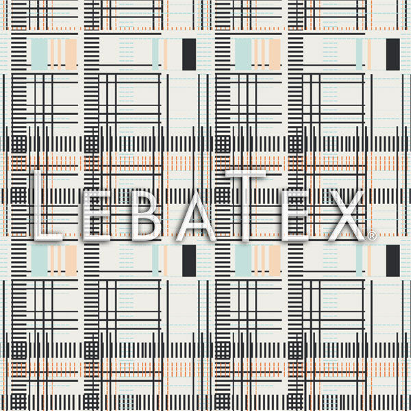 LebaTex Morose Plaid Customizable M.O.D. Fabric
