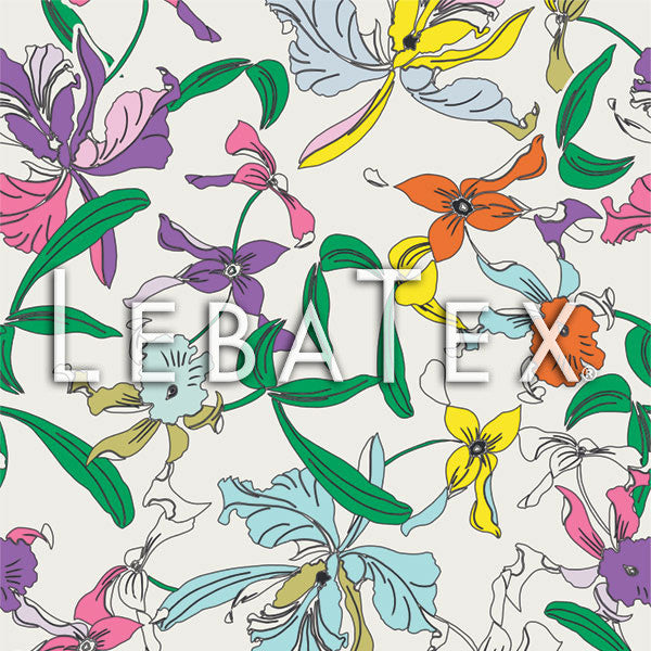 LebaTex Iris Dream Customizable M.O.D. Fabric