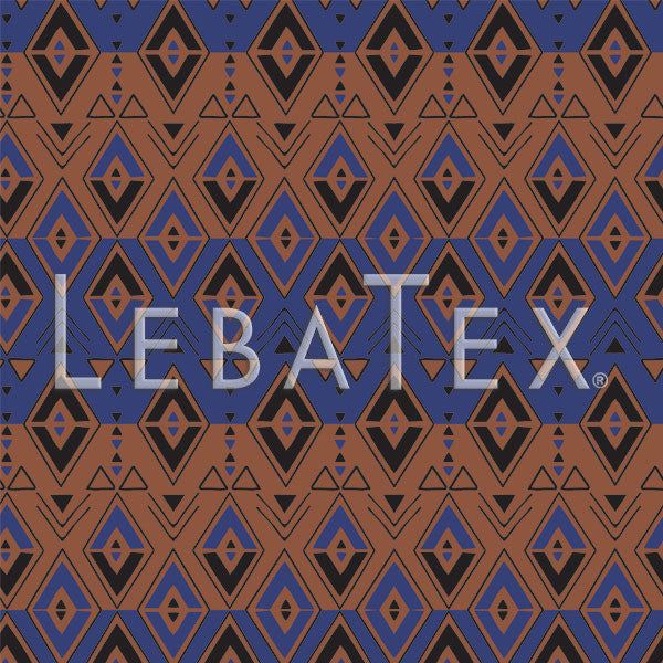 LebaTex Archipelago Stripe Customizable M.O.D. Fabric