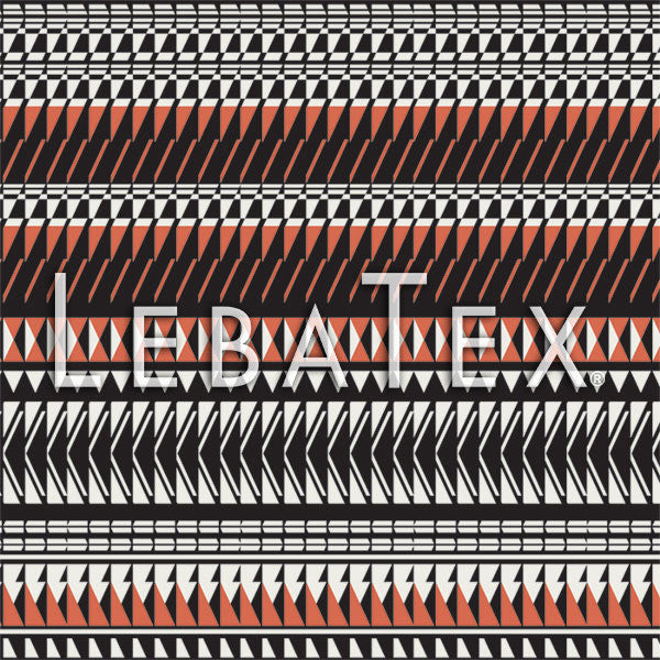 LebaTex Geo Stripe Customizable M.O.D. Fabric