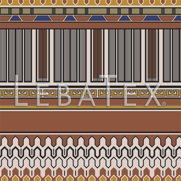 Quetzal Stripe Customizable M.O.D. Fabric