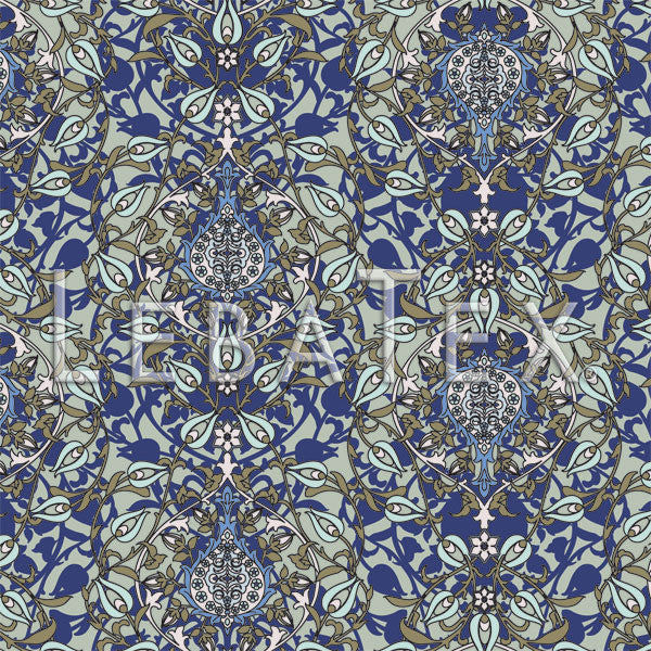 LebaTex Good Evening Customizable M.O.D. Fabric