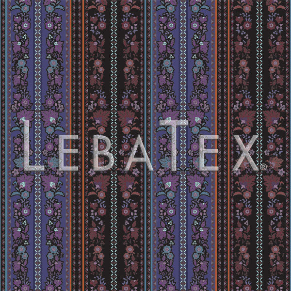 LebaTex Blossom Stripe Customizable M.O.D. Fabric
