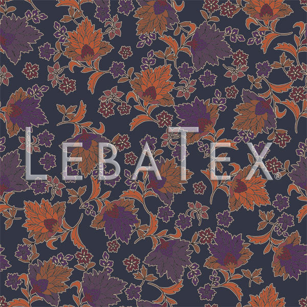 LebaTex Etta Floral Customizable M.O.D. Fabric