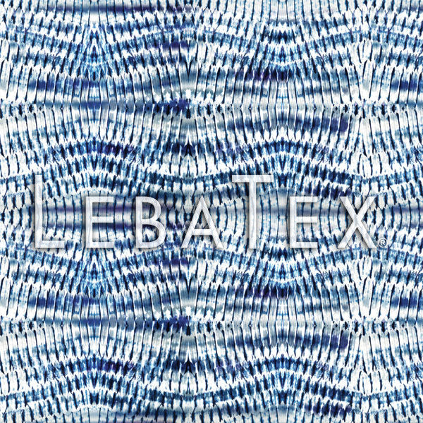 LebaTex Zig Zag Shibori Customizable M.O.D. Fabric