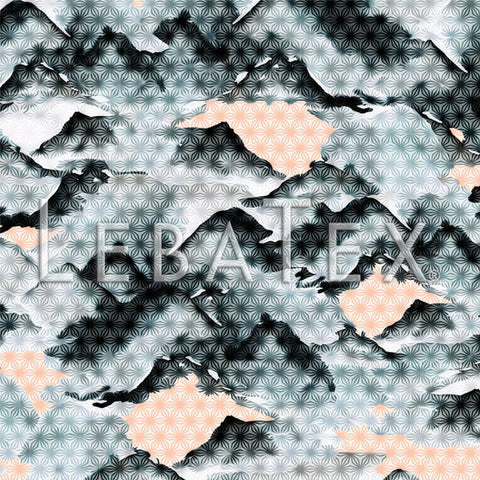 LebaTex Mt. Fuji Customizable M.O.D. Fabric