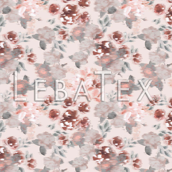 LebaTex Brushed Flora Customizable M.O.D. Fabric