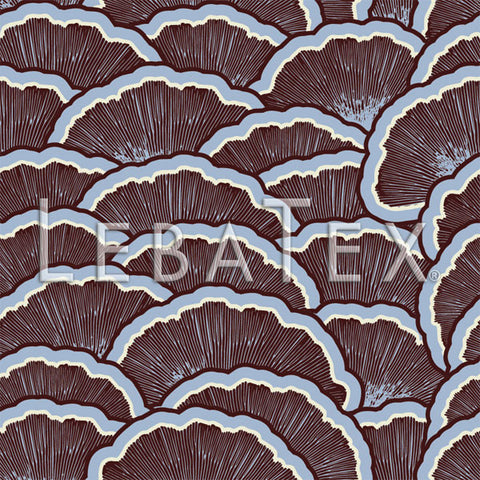 LebaTex Fan Scallop-Storm Customizable M.O.D. Fabric