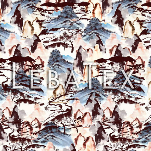 LebaTex Hillside Toile II Customizable M.O.D. Fabric