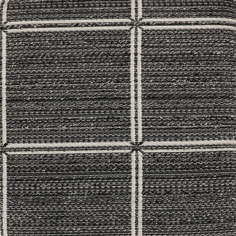 Dover-Charcoal Indoor/Outdoor Upholstery Fabric