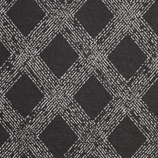 Folklore-Slate Indoor/Outdoor Upholstery Fabric