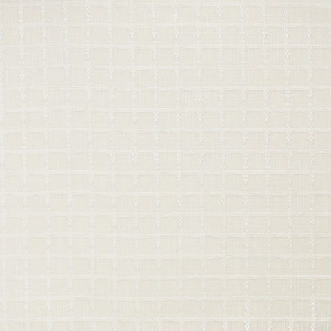 Grid-Cream Drapery Fabric