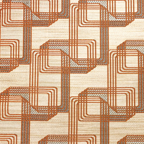 Improv-Copper Upholstery Fabric
